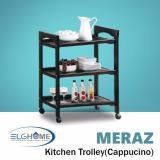 Meraz Kitchen Trolley Cappuccino Free Install Delivery Deal