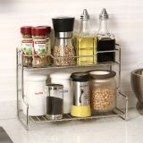 Lowest Price Mini Two Layer Stainless Steel Rack