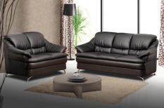 Miami 2 + 3 Seater Sofa (Dark Brown)