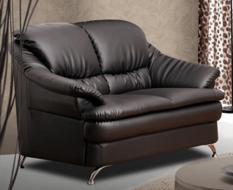 Miami 2 Seater Sofa (Dark Brown)