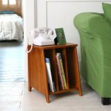 Deals For Mid Century Magazine Side Table Storage Cabinet Vintage Retro Design
