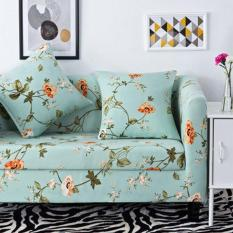 Mimosifolia Combination Sofa 3 4 Seater Couch Many People Settee Protect Cover Stretch Slipcover Slip Resistant Soft Fabric Length 195 Cm To 230 Cm Intl In Stock