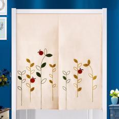 Mimosifolia Door Curtains Bedroom curtain Room Dividers curtain 85X150CM- intl