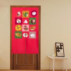 Mimosifolia Door Curtains Bedroom curtain Room Dividers curtain85X150CM - intl