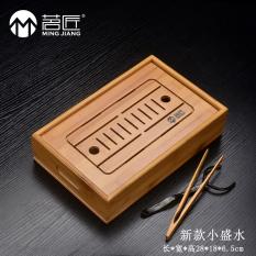 List Price Ming Cegar Water Large Trumpet Tea Bamboo Tea Tray Oem