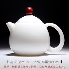Mingfengtang Jade Porcelain High White Kung Fu Tea Pig Grease White Teapot Promo Code