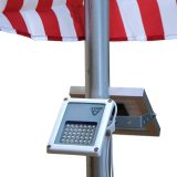 Low Price Mini Alpha180X Solar Flag Pole Flood Light