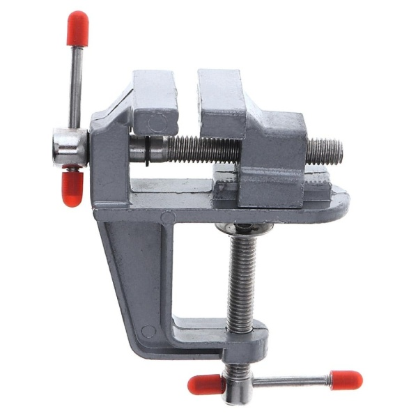 Mini Aluminum Alloy DIY Jaw Bench Clamp Drill Press Vice Micro Clip for Clamping Table / Water Pump - intl