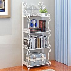 European-style Iron Floor Storage Rack