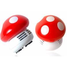 Buy Mini Desk Cute Vacuum Cleaner Office Portable Vacuum Wireless Portable Mini Vacuum Cleaner Mushroom Oem