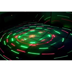 Mini Laser Projector R&G For DJ Disco Stage Light Xmas Party+Remote - intl