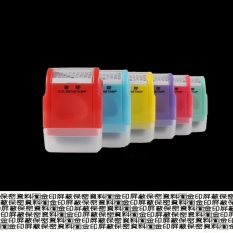Retail Price Mini Privacy Protection Stamp Messy Code Id Guard Roller Stamp To Cover Address For Infomation Protect Intl