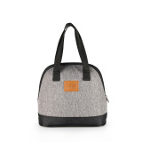 Brand New Kinnet Mini Shell Waterproof Insulated Thermos Thermal Cooler Tote Lunch Bag Picnic Bag Hot Bag Cooler Bag 5 6L(Heather Grey)