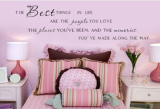 Lowest Price Mix Wholesale Order The Best Things In Life People Places Wall Sticker Quote Viny Decal Art House Decor