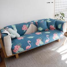 Mo Naihe cotton cover covers washed slip mat sofa mat