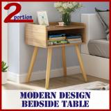 Best Reviews Of Modern Bedside Table Small Light Brown
