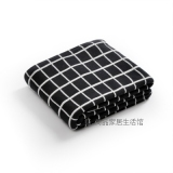 Buy Cheap Modern Geometric Take Ab Version Of The Double Sided Available Cotton Knitted Blanket