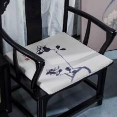 New Modern Chinese Ink Tea Chair Cushion