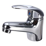 Buy Modern Chrome Bathroom Kitchen Basin Sink Brass Mixer Tap Faucet Cold Hot Spout Oem
