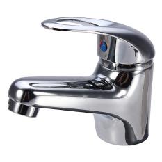 Promo Modern Chrome Bathroom Kitchen Basin Sink Brass Mixer Tap Faucet Cold Hot Spout