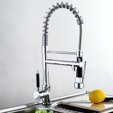 Buy Modern Chrome Pull Out Spray Swivel Mixer Kitchen Bathroom Basin Sink Tap Faucet Oem Cheap