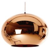 Modern Classic Fashion Tom Dixon Glass Copper Mirror Shade Ball Lights 15Cm E27 Led Pendant Lamps For Dining Rooms Reviews
