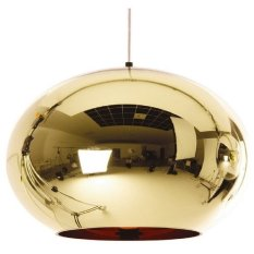 Discount Modern Classic Fashion Tom Dixon Glass Gold Mirror Shade Ball Lights 20Cm E27 Led Spring Sale Pendant Lamps For Dining Rooms Oem China
