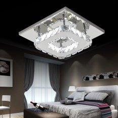 Modern Crystal Ceiling Light Pendant Lamp Fixture Chandelier Living Room Decor - intl