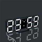 Price Modern Digital Led Table Desk Night Wall Clock Alarm Watch 24 Or 12 Hour Display Intl On China