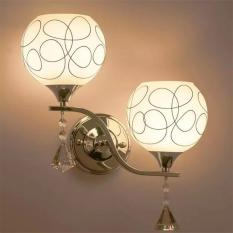 Modern Double Heads Meter Crystal Wall Light For Living Room Bedroom Bedside Lobby Intl On Line