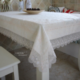 Discounted Modern High Grade Lace Tablecloth Table Cloth Fabric