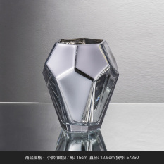 Price Modern Jianyue Gold Abstract Electroplated Flower Arrangement Is Glass Vase Osborne Original