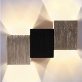 Review Modern Led Rectangle Art Creative Wall Lamp Lighting Warm White For Staircase Intl Nexlux On China