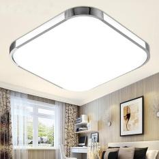 Modern LED Square Ceiling Down Light Bedroom Living Room Lamp Surface Mount New # White light 24W Singapore