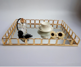 Compare Prices For Modern Metal Gold Villa Hotel Fruit Bowl Tray