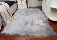 Nordic modern simple wool window mat