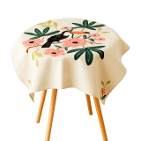 How Do I Get Fabric Coffee Table Small Round Table Living Room Study Linen Cover Cloth