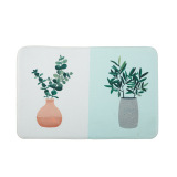 Review Modern Minimalist Suede Kitchen Bathroom Non Slip Mat Oem On China