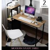 Modern Premium Computer Study Table With Shelf Review