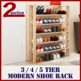 For Sale Modern Shoe Rack 3 Tier White