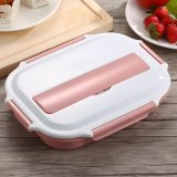 Wholesale Modern Stainless Steel Layered Bento Lunch Box Thermal Microwave Oven Use Food Box Lunchbox Portable High Capacity Intl