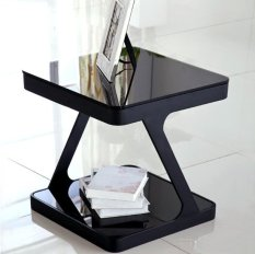 Modern Stylish Side Table (Black)