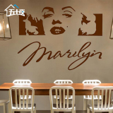 Price Monroe Living Room Backdrop Bedroom Wall Stickers Decorative Wall Stickers Oem