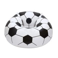 Who Sells Moob Inflatable Football Sofa Cool Design Bean Bag High Quality Eco Friendly Pvc For Adults And Kids Black White Large Cheap