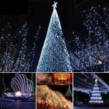Coupon Moonar 50Led Outdoor Garden Wedding Decor Christmas Party Solar Blossom Flower Fairy String Lights Intl