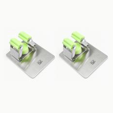Cheapest Mop Hook Does Not Rust Steel Free Punch Hanging Mop Wall Mop Clip Deck Bathroom Strong Online