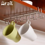 Cheapest Mug Holder Coffee Tea Cup Rack Storage Kitchen Under Shelf Cabinet Hanger Hooks Intl