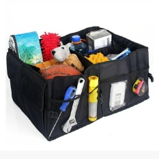 Review Multi Purpose Car Trunk Cargo Foldable Storage Folding Box Bag Tool Case Intl Not Specified