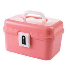 Price Multi Purpose Medicine Box With Handle Pink Oem Online