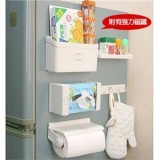 Discount Multi Purpose Strong Magnetic Refrigerator Combination Storage Rack Five Pieces Set Refrigerator Suction Debris Storage Roll Rack Suit Oem On Singapore